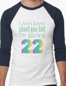 22 Men's Baseball ¾ T-Shirt