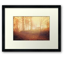 the gods that bring in the new day Framed Print