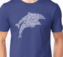 QR Dolphins Unisex T-Shirt