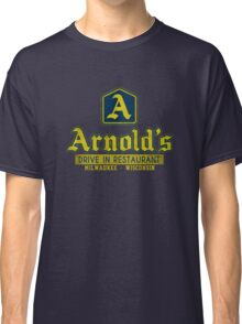 Arnold's Drive In Restaurant Navy Classic T-Shirt