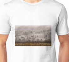 Surrounded by Snow in Cades Cove Unisex T-Shirt