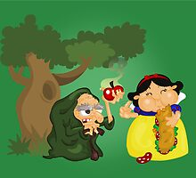 Snow White by alapapaju
