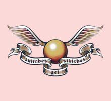 Snitches Get Stitches - Tattoo Version One Piece - Short Sleeve