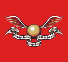 Snitches Get Stitches - Tattoo Version Baby Tee