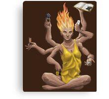 Game Shiva Canvas Print