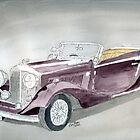 Bentley Drophead 1934 by Eva  Ason