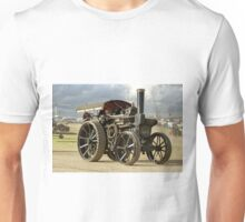 """Fowler 8nhp Road Locomotive and Crane Engine """"The Great North"""" Unisex T-Shirt"""