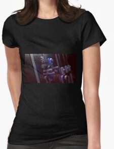 Robo Odd Dude - Computer graphics Womens Fitted T-Shirt