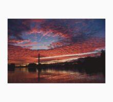 Vivid Skyscape - Summer Sunset at Toronto Beaches Marina Kids Tee