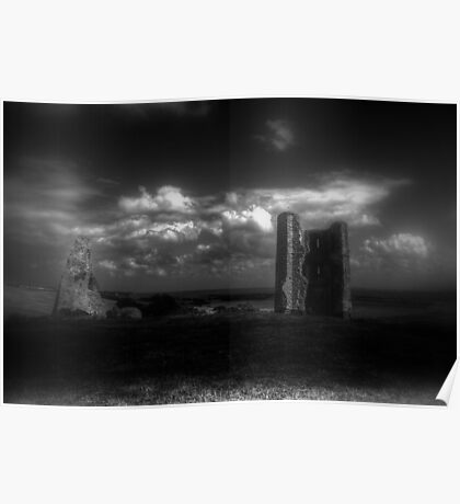 Hadleigh Castle (English Heritage) Poster