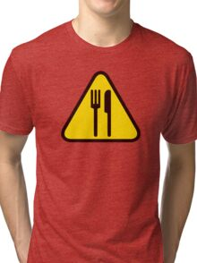 WAGNARIA - Working!! Tri-blend T-Shirt