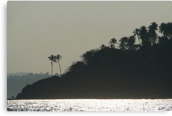 Palm Trees on Monkey Island by SerenaB