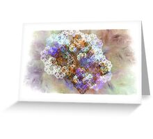 King of my castle - Abstract Fractal Greeting Card