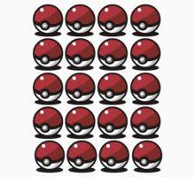 Tons of Pokeballs by Namueh