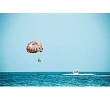 Para sail Photographic Print