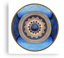 Mandala :  Flow Canvas Print