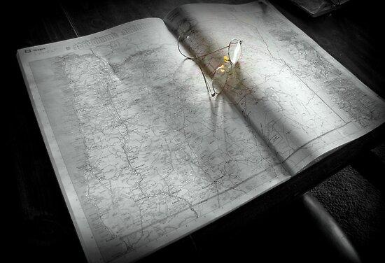 Planning A Trip by Diane Arndt