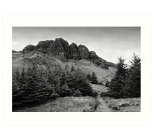 View at The Storr Art Print