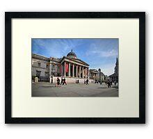 National Gallery - London Framed Print