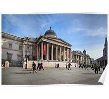 National Gallery - London Poster