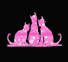 Pink Kitties by Chazagirl