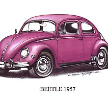 Volkswagen Beetle 1957 by mrclassic