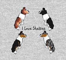 I Love Shelties! Unisex T-Shirt