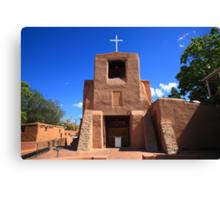 Santa Fe - San Miguel Chapel Canvas Print