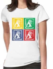 Queen the Weed Womens Fitted T-Shirt