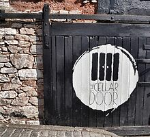 Cellar Door At Exeter Quays by lynn carter