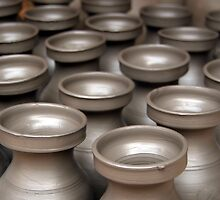 Drying Pots Bhakatpur by SerenaB