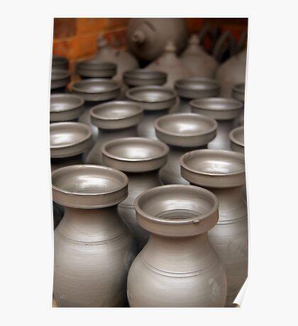 Drying Pots Bhakatpur Poster
