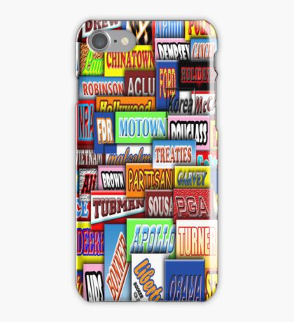 THE UNITED STATES of CANDY iPhone Case/Skin