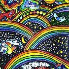 Rainbow Bright by Monica Engeler