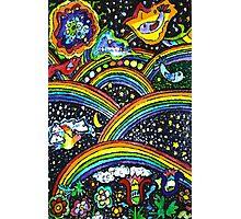 Rainbow Bright Photographic Print