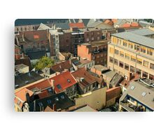 ROOF TOP HIGH Canvas Print