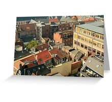 ROOF TOP HIGH Greeting Card