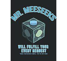 MR. MEESEEKS BOX Photographic Print