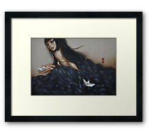 between here and there 1 Framed Print