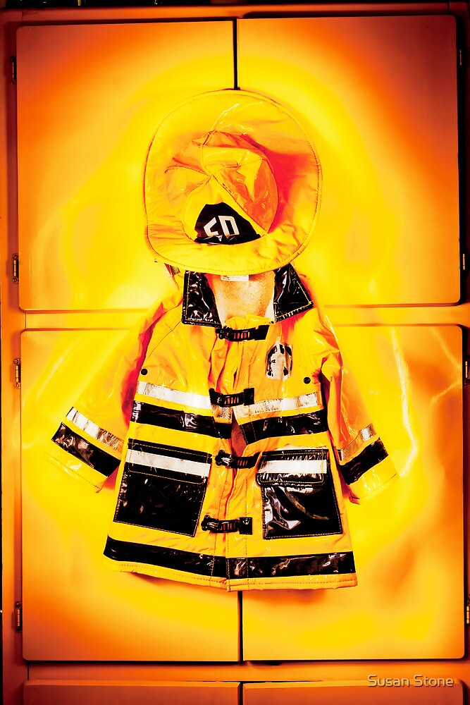 Red Hot Fire Jacket by susan stone