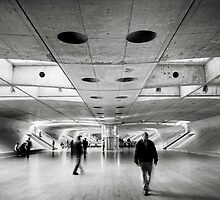 Gare do Oriente by Nina Papiorek