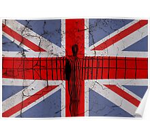 Angel Union Flag Poster