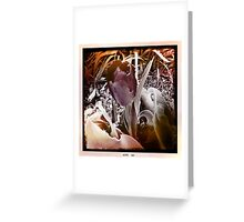 Two Lips Greeting Card
