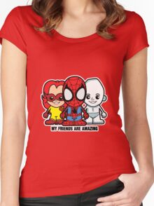Lil Amazing Friends Women's Fitted Scoop T-Shirt