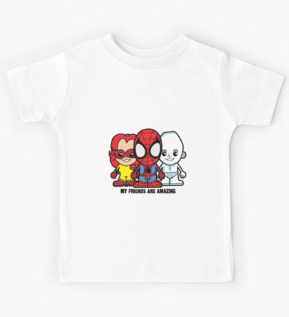 Lil Amazing Friends Kids Tee