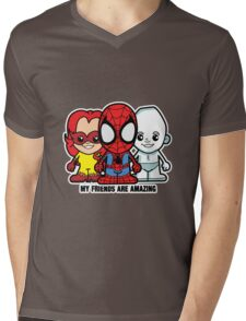 Lil Amazing Friends Mens V-Neck T-Shirt