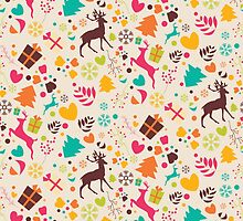 Christmas pattern 01 by BlueLela