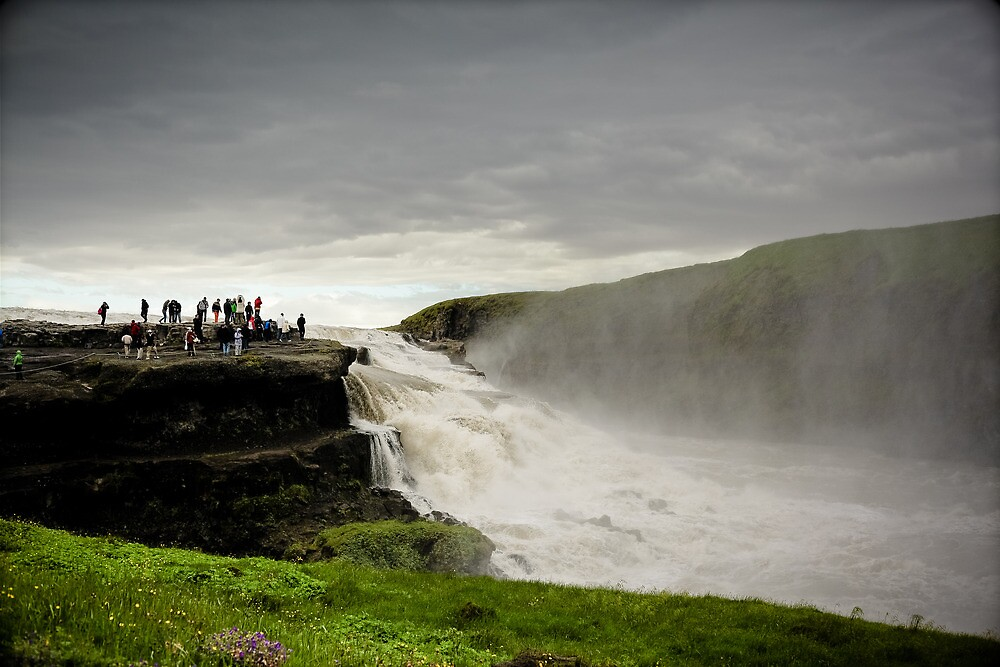 Crazy views of Iceland, Gullfoss. by Cappelletti Benjamin