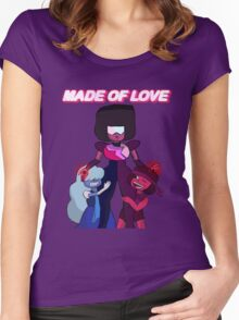 Made of Love Women's Fitted Scoop T-Shirt