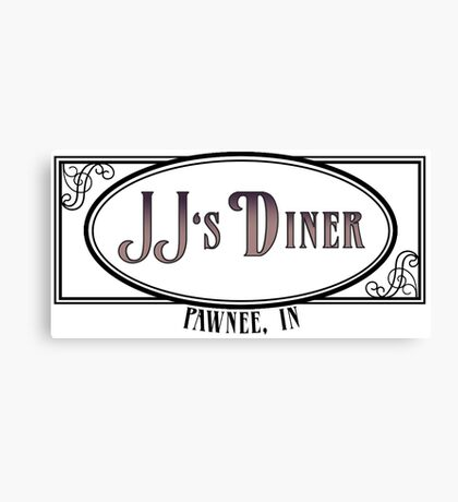 JJ's Diner - Parks and Recreation Canvas Print